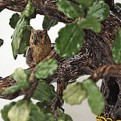 Для дома и интерьера handmade. Livemaster - original item Oak there stands ceramic decorative sculpture. Handmade.