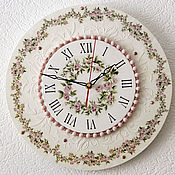 Для дома и интерьера handmade. Livemaster - original item Wall clock large