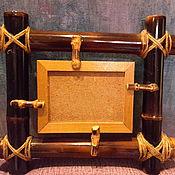 Для дома и интерьера ручной работы. Ярмарка Мастеров - ручная работа Бамбуковые рамки. Handmade.