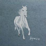Картины ручной работы. Ярмарка Мастеров - ручная работа Лошадь. Handmade.