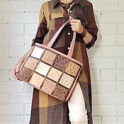 Сумки и аксессуары handmade. Livemaster - original item Tote, Women`s bag, Large bag, for documents, for laptop 183. Handmade.