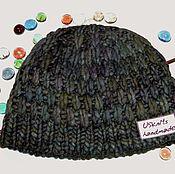 Аксессуары handmade. Livemaster - original item Warm winter knitted cap (beanie) Malabrigo. Handmade.