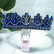 Украшения handmade. Livemaster - original item Tiara lace, assorted colors 6 pieces. Handmade.
