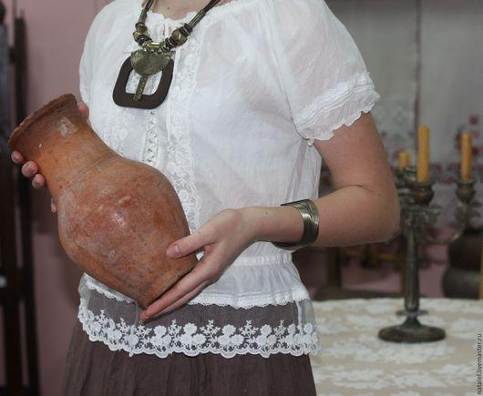 """Блузки ручной работы. Ярмарка Мастеров - ручная работа. Купить Блузка """"Provence-5"""" с кружевом. Handmade. Белый, бохо стиль"""