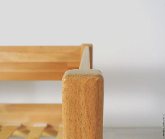 Мебель ручной работы. Ярмарка Мастеров - ручная работа. Купить Кровать  детская буковая Арвен. Handmade. Натуральный, кровать для детей