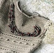 """Одежда ручной работы. Ярмарка Мастеров - ручная работа Жилет """"Деревенька"""" вязаный жилет жилет ручной работы. Handmade."""