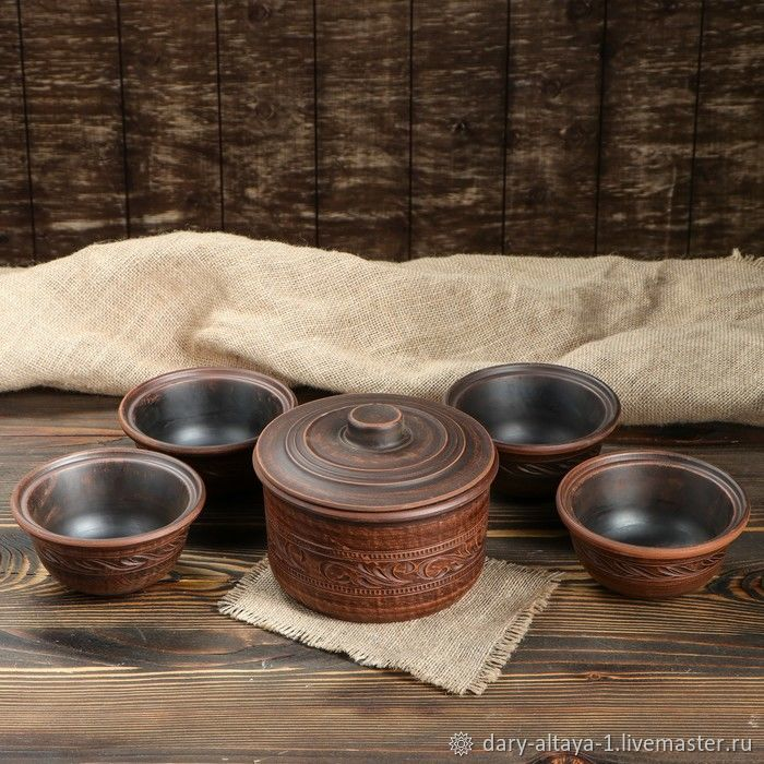 Cookware sets 'Kasznik and Bowls', Dinnerware Sets, Moscow,  Фото №1
