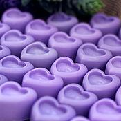 Мыло ручной работы. Ярмарка Мастеров - ручная работа Мыльные сердечки. Handmade.