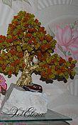 Цветы и флористика ручной работы. Ярмарка Мастеров - ручная работа Бисерные деревья. Handmade.