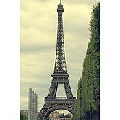 """Картины и панно ручной работы. Ярмарка Мастеров - ручная работа Фотокартина """"La Tour d`Eiffel"""" Фоторабота. Handmade."""