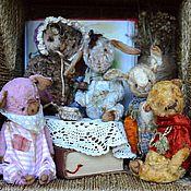 Куклы и игрушки ручной работы. Ярмарка Мастеров - ручная работа Винни Пух и все все все..... Handmade.