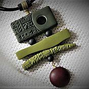 Украшения ручной работы. Ярмарка Мастеров - ручная работа Кулон из полимерной глины  Китай. Handmade.