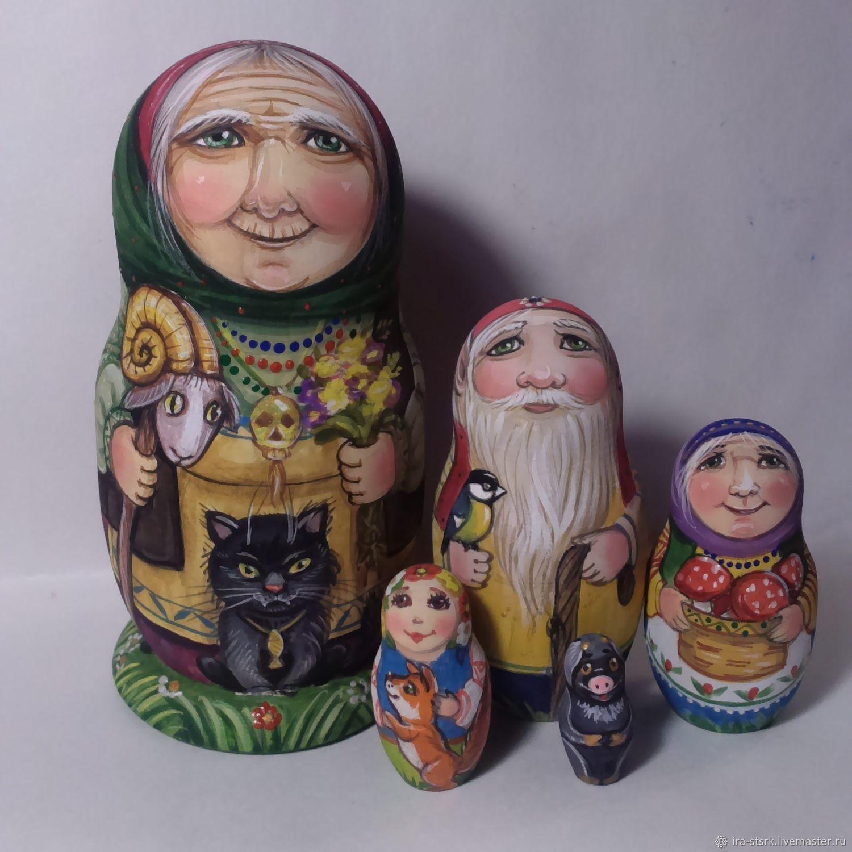 Баба Яга с компанией, Матрешки, Витебск,  Фото №1