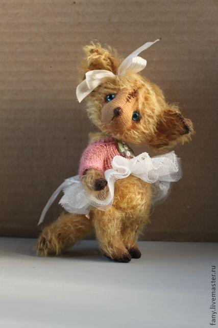 Мишки Тедди ручной работы. Ярмарка Мастеров - ручная работа. Купить Тедди-лиса Лисси. Handmade. Мишки тедди, синтепух
