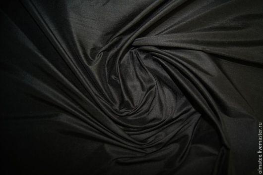 Шитье ручной работы. Ярмарка Мастеров - ручная работа. Купить Дюпион (дикий шелк). Handmade. Черный, ткани олматекс, чесуча