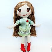 Куклы и игрушки ручной работы. Ярмарка Мастеров - ручная работа Лалалупси текстильная. Handmade.