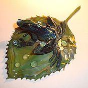 Для дома и интерьера ручной работы. Ярмарка Мастеров - ручная работа Коллекция тропических лягушек. Handmade.