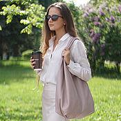 Сумки и аксессуары handmade. Livemaster - original item Tote Bag Pink Bag Large Leather Bag Bag Bag. Handmade.