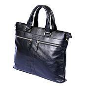 """Мужская сумка ручной работы. Ярмарка Мастеров - ручная работа Деловая сумка """"Robbi"""", портфель, мужская сумка. Handmade."""
