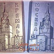 """Косметика ручной работы. Ярмарка Мастеров - ручная работа Сувенирное мыло """"Москва - Кремль"""". Handmade."""