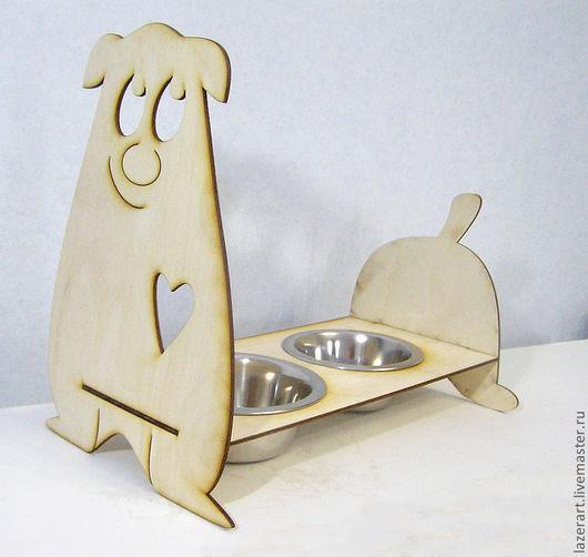 Аксессуары для собак, ручной работы. Ярмарка Мастеров - ручная работа. Купить Кормушка для собак. Handmade. Для собак, аксессуары для собак
