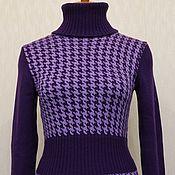 Одежда ручной работы. Ярмарка Мастеров - ручная работа Жаккардовое платье. Handmade.