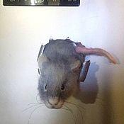 Магниты ручной работы. Ярмарка Мастеров - ручная работа Мышки-воришки. Handmade.