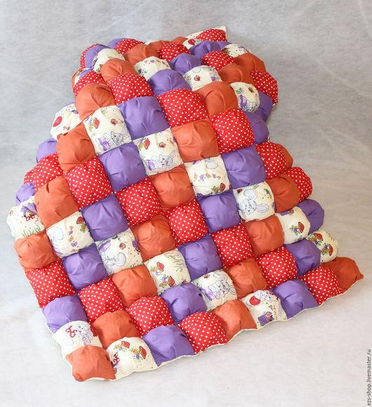 Детская ручной работы. Ярмарка Мастеров - ручная работа. Купить Яркое детское одеяло. Handmade. Комбинированный, лоскутное одеяло, дочке