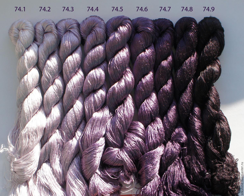 Шелковые нитки для вышивки гладью купить