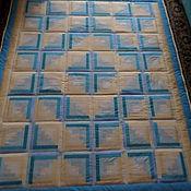 Для дома и интерьера ручной работы. Ярмарка Мастеров - ручная работа Море и песок. лоскутное одеяло. Handmade.