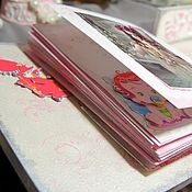 Канцелярские товары handmade. Livemaster - original item Photo albums: Photo album for baby Princess Castle. Handmade.