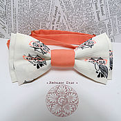 Аксессуары handmade. Livemaster - original item Bow Tie owl/ Owls/ classic in 2 two-ply. Handmade.