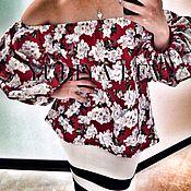 Одежда handmade. Livemaster - original item Blouse from YULIYA LEV. Handmade.