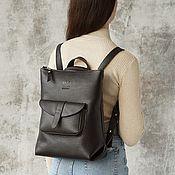 Сумки и аксессуары handmade. Livemaster - original item Women`s leather backpack bag