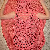 Одежда ручной работы. Ярмарка Мастеров - ручная работа Коралловый ажурный жилет. Handmade.