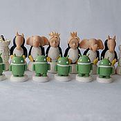 Куклы и игрушки handmade. Livemaster - original item The handmade chess SIS.eminovska. Handmade.