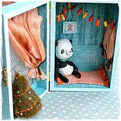 Куклы и игрушки ручной работы. Ярмарка Мастеров - ручная работа Крошкин домик для мишки тедди. Handmade.