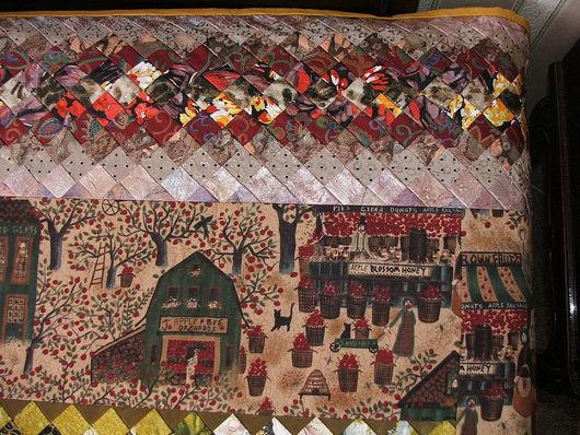 Текстиль, ковры ручной работы. Ярмарка Мастеров - ручная работа. Купить Покрывало  Яблочный спас. Handmade. Пэчворк, лоскутное шитье