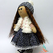 Куклы и игрушки ручной работы. Ярмарка Мастеров - ручная работа Авторская интерьерная текстильная кукла. Handmade.