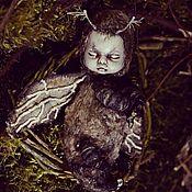 "Художественная  кукла ""Dawn moth"""