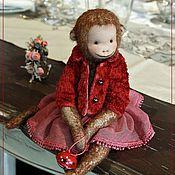 Куклы и игрушки handmade. Livemaster - original item Friends Teddy. The author`s work.Monkey Tutsi - cutie.. Handmade.