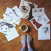 Картины и панно ручной работы. Ярмарка Мастеров - ручная работа Иллюстрации. Handmade.