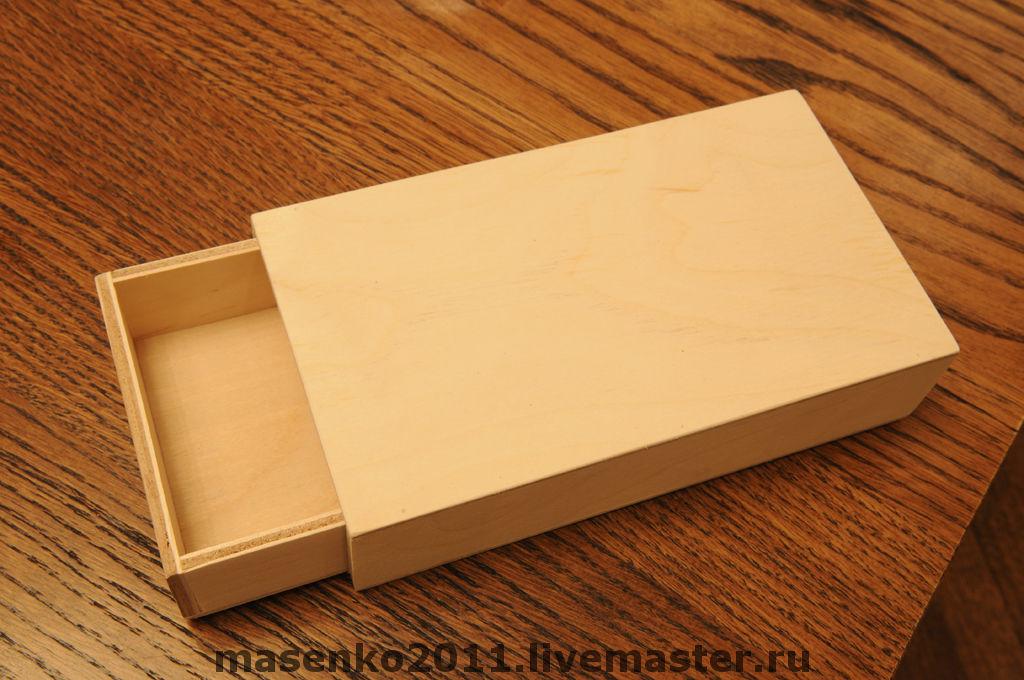 Как сделать коробку из картона как спичечный коробок