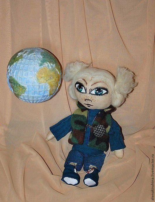 Куклы тыквоголовки ручной работы. Ярмарка Мастеров - ручная работа. Купить Кукла тыквоголовка Соня. Handmade. Кукла, кукла тыквоголовка