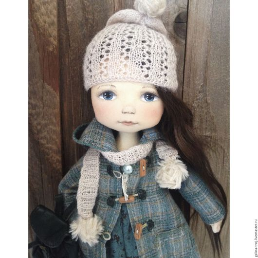 Коллекционные куклы ручной работы. Ярмарка Мастеров - ручная работа. Купить Кукла с рюкзачком. Handmade. Комбинированный, кукла интерьерная, девочке