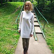 Одежда ручной работы. Ярмарка Мастеров - ручная работа Платье свитер Warmest, очень тёплое!. Handmade.