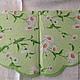 Ромашки белые на нежно-зеленом фоне (салфетка для декупажа) Декупажная радость