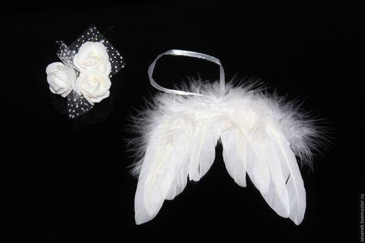 Одежда для кукол ручной работы. Ярмарка Мастеров - ручная работа. Купить Ангельские крылья для кукол и игрушек. Handmade. Белый, крылья