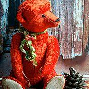 Куклы и игрушки ручной работы. Ярмарка Мастеров - ручная работа Большой Тедди медведь Остап с ревуном. Handmade.