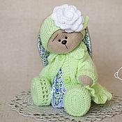 Куклы и игрушки ручной работы. Ярмарка Мастеров - ручная работа Зайка Люсиль. Handmade.